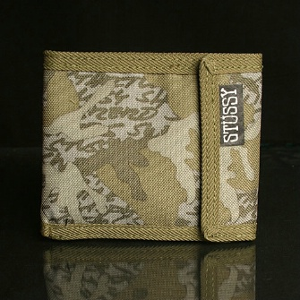 Stussy Futura Destiny Loop Wallet - Jungle Camo