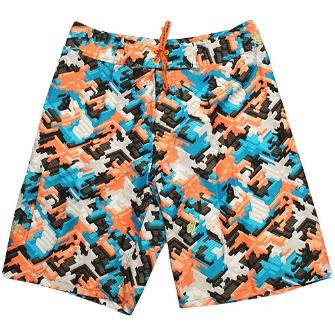 Lrg Got The Block Sewn Up Shorts - Neon Camo