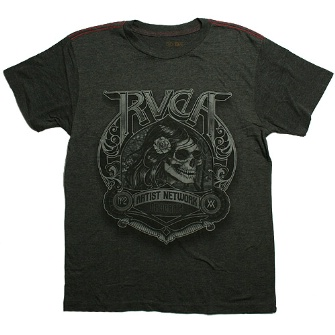 RVCA No Buffalo T-Shirt - Vintage Black
