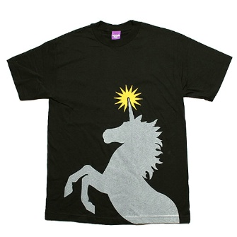 Second Son Unicorn T-Shirt - Black