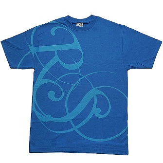 Rogue Status Rs Script T-Shirt - Blue