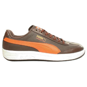 Puma Argentina Winterised - Brown/Orange