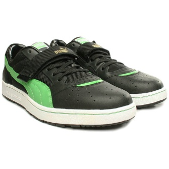 Puma Sky 2 Plus Shoe - Black/Green