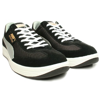 Puma Argentina Mesh Shoe - Black/Grey