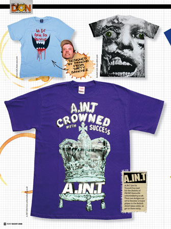 A.IN.T Crowned With Success T-Shirt - Purple