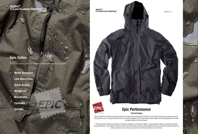Addict Epic C-Law Jacket - Black