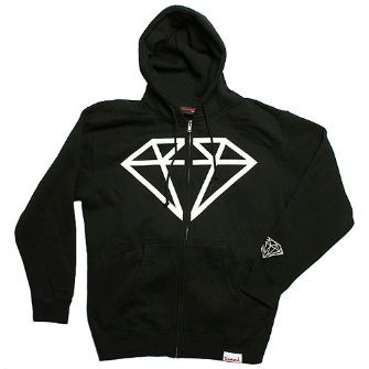 Diamond Supply Co Rock Hoody - Black