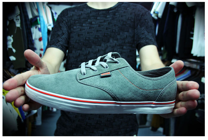 Dvs Rico Shoe - Charcoal Grey