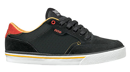 DVS Shoes Dayton Bar Shoe - Black/Sunset Suede - Original Intent