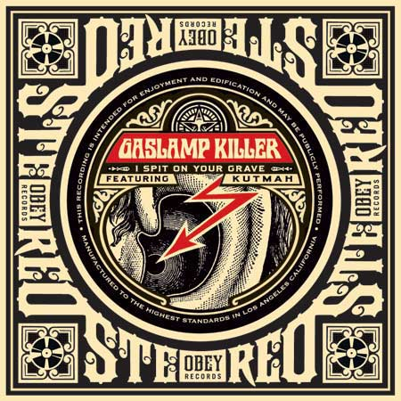 Obey x Gas Lamp Killer CD