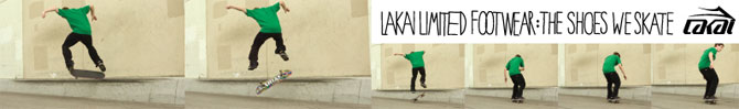 Lakai Shoes at Urban Industry