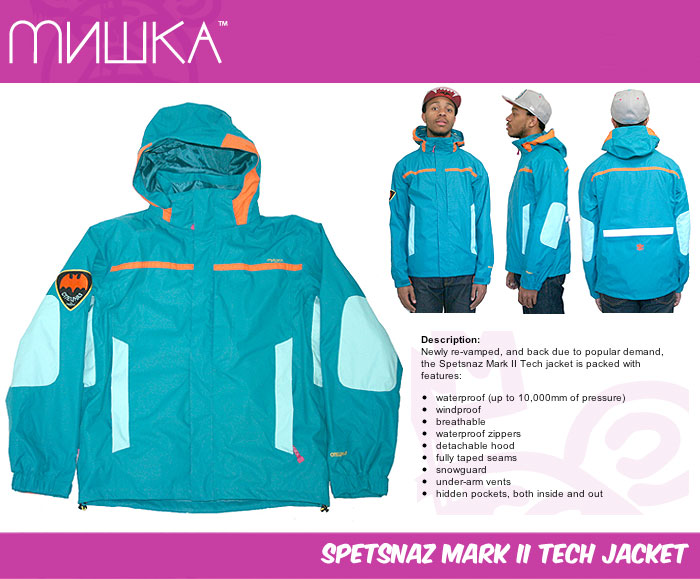 Mishka Spetsnaz Mark 2 Tect Jacket at Urban Industry
