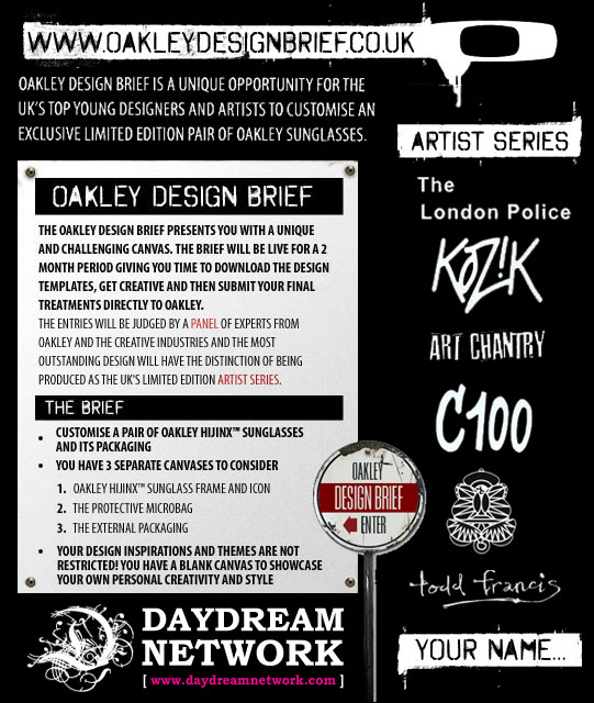 Oakley Design Brief Competition