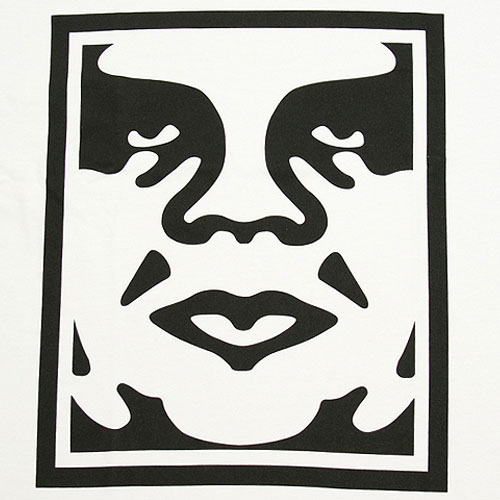 Obey Andre Face T-Shirt - White