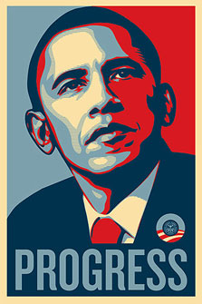 Obey Obama Progress Ltd T-Shirt