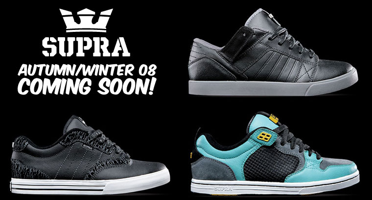 Supra Autumn/Winter collection at Urban Industry