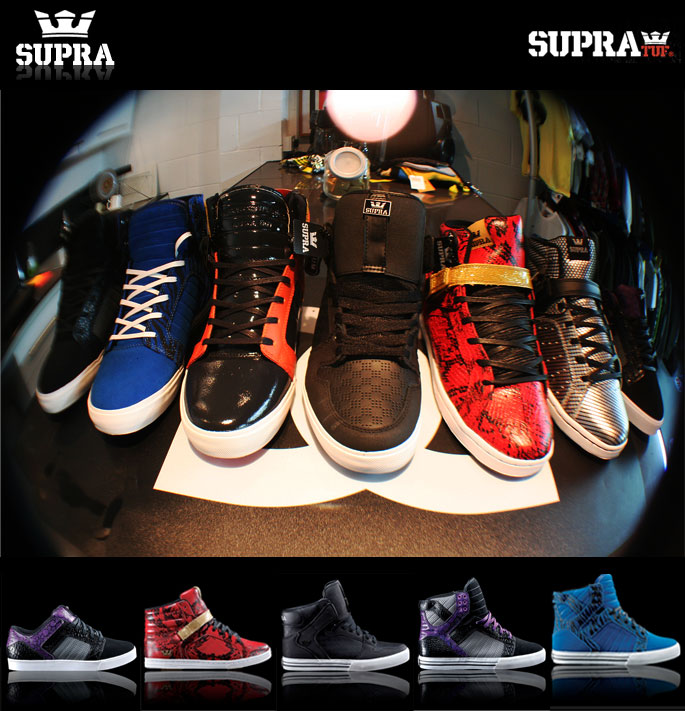 Supra Shoes at Urban Industry