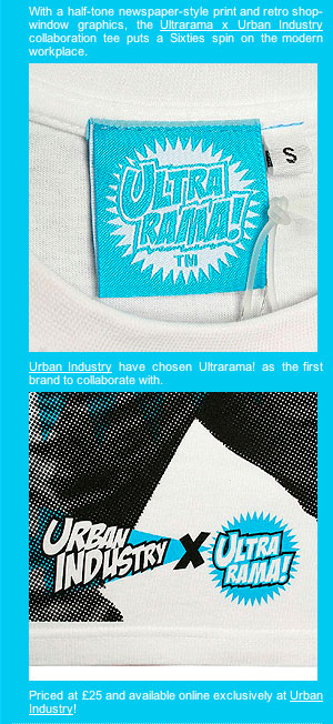 Urban Industry X Ultrarama Earn Tee
