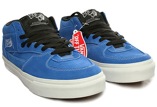 Vans Half Cab Shoe - Strong Blue