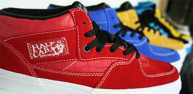 Vans Half Cabs at Urban Industry